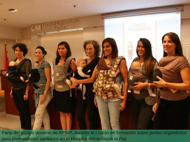 formaciC3B3nporteoergonC3B3mico Formación de porteo para profesionales de la salud
