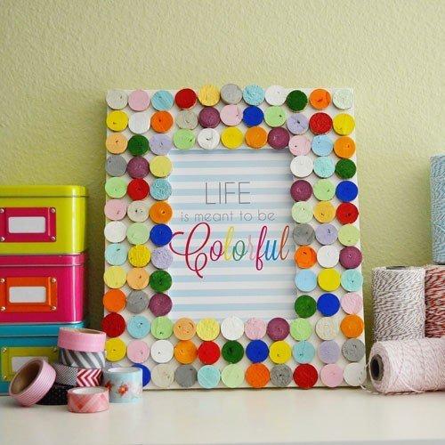 allyou.com_ Manualidades que se pueden hacer con niños para decorar el hogar