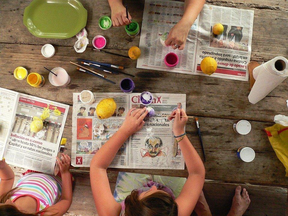 decoracion-ni_C3_B1os-hogar Manualidades que se pueden hacer con niños para decorar el hogar