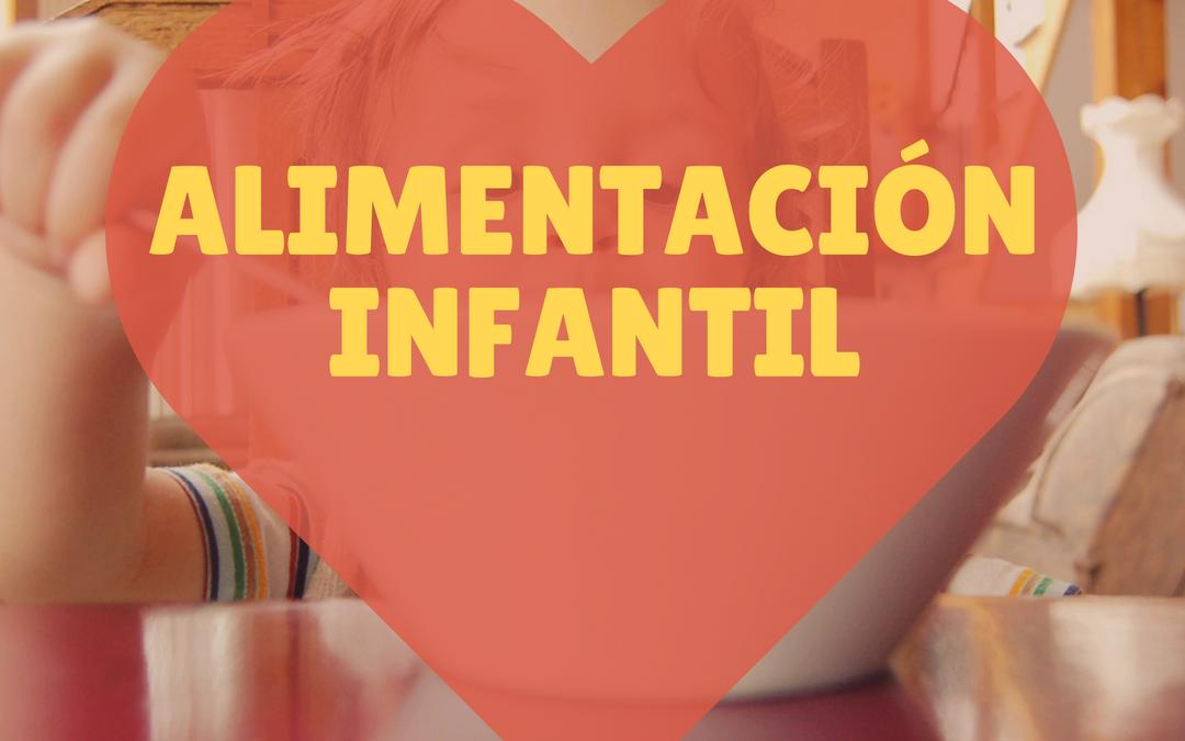 Alimentación infantil sana y equilibrada en niños y bebés. Escuela de padres.