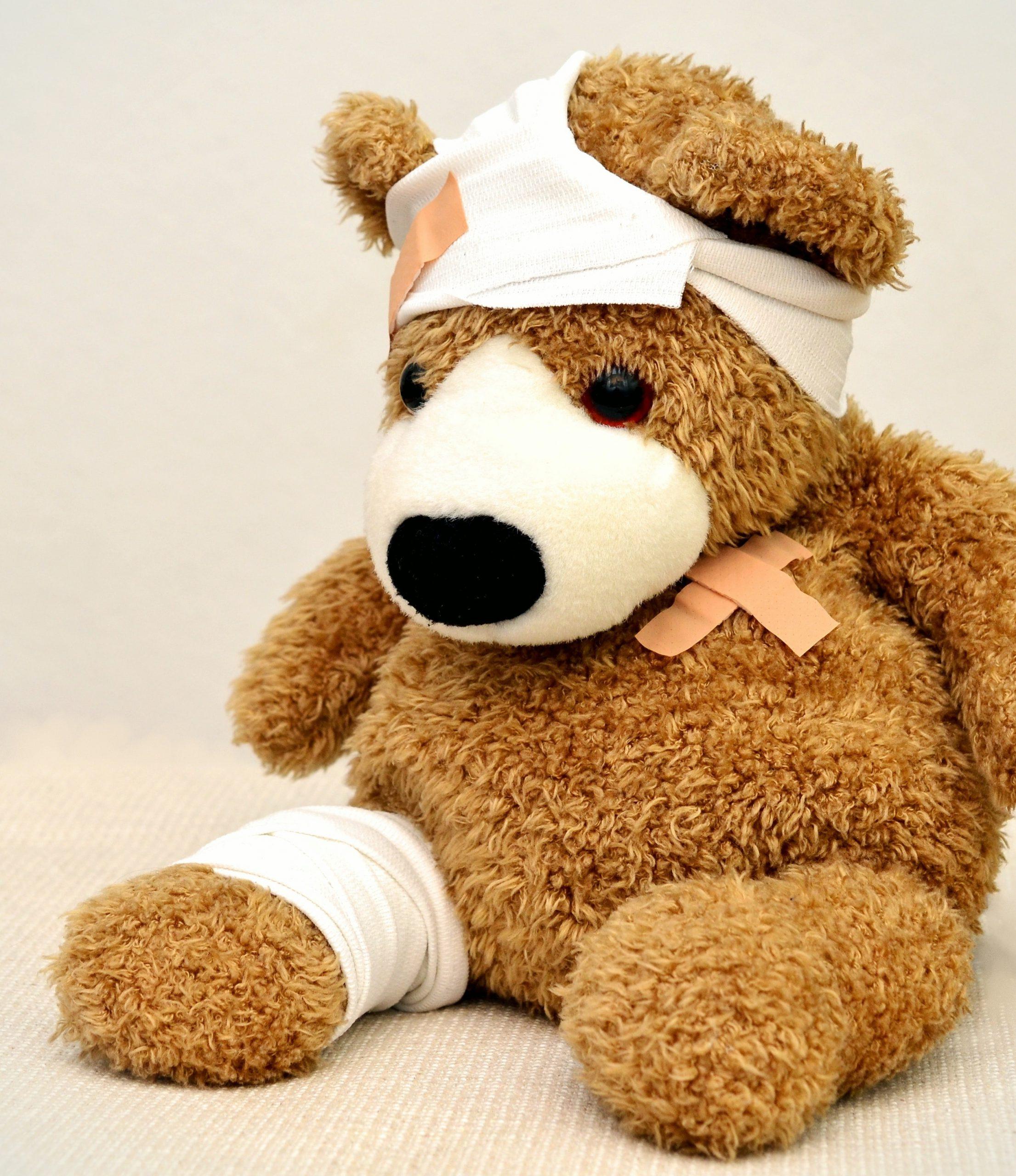 Tratamiento heridas en bebés