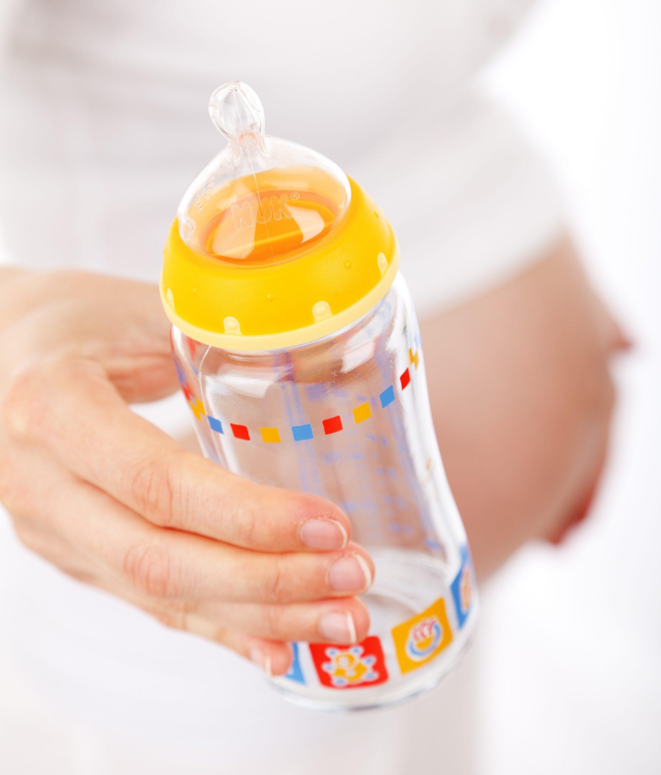 Alimentación mixta del recién nacido