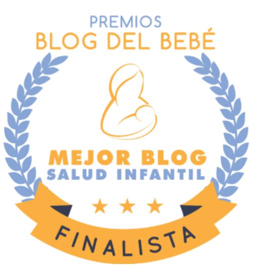 Finalista mejor Blog de Salud Infantil y Pediatría